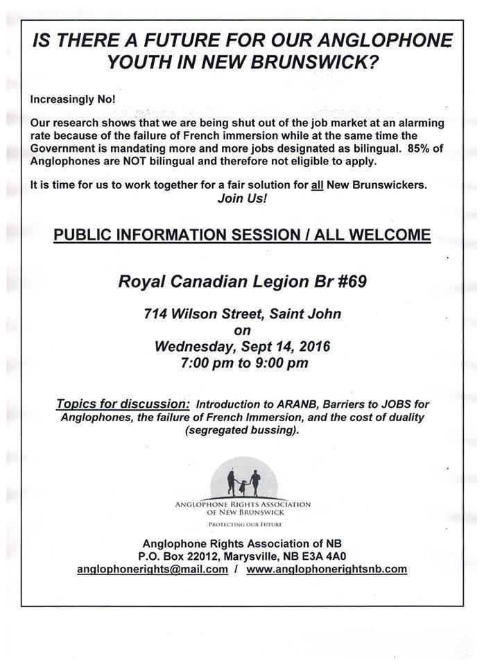 Saint John Meeting Sept 14